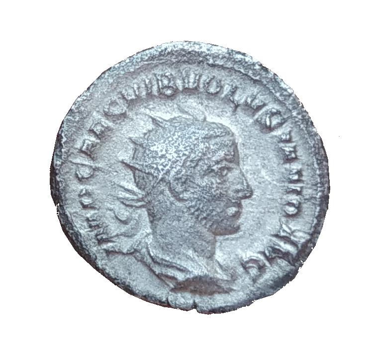 Antoniano de Volusiano. IVNONI MARTIALI. Juno detro de templo díctilo. Roma 1_5_ro10
