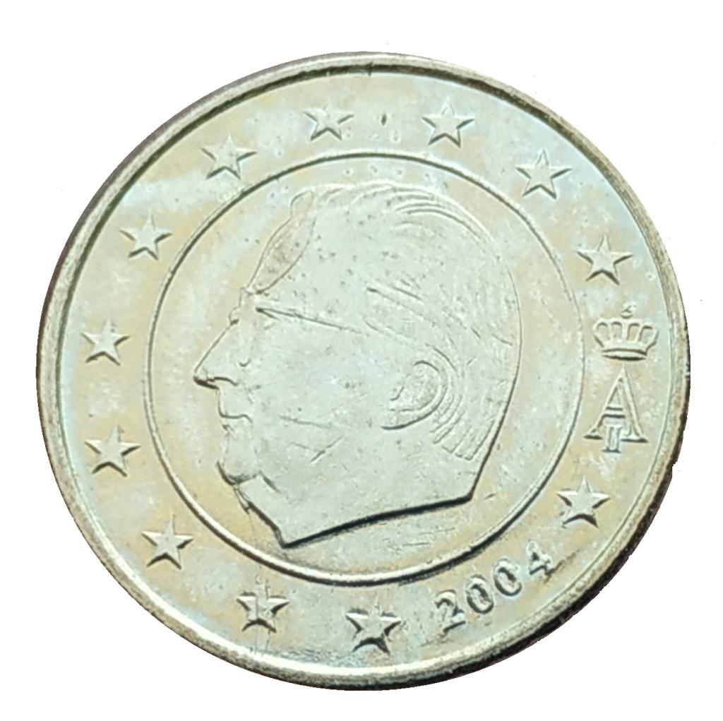 Moneda50 Centimos de Euro 2004 Belgica. ERROR Aleman11