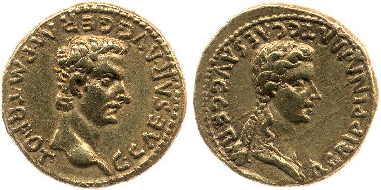 Moneda Aureo de Caligula - Pregunta: An006510