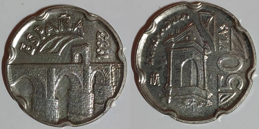 Moneda 50 pesetasextremadura 1993 Entera11