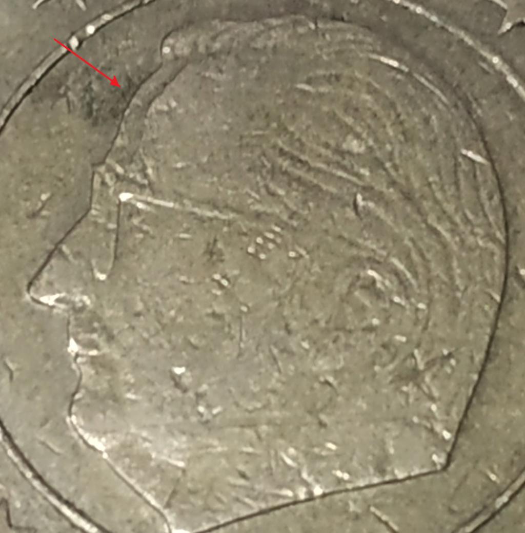 Moneda50 Centimos de Euro 2004 Belgica. ERROR Error112