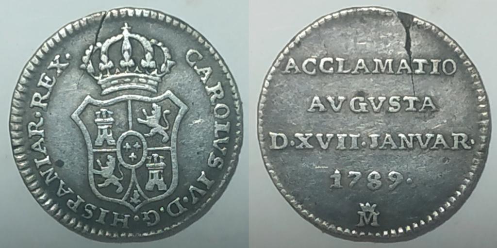 Medalla proclamación Carlos IV año 1789 Madrid Medall14