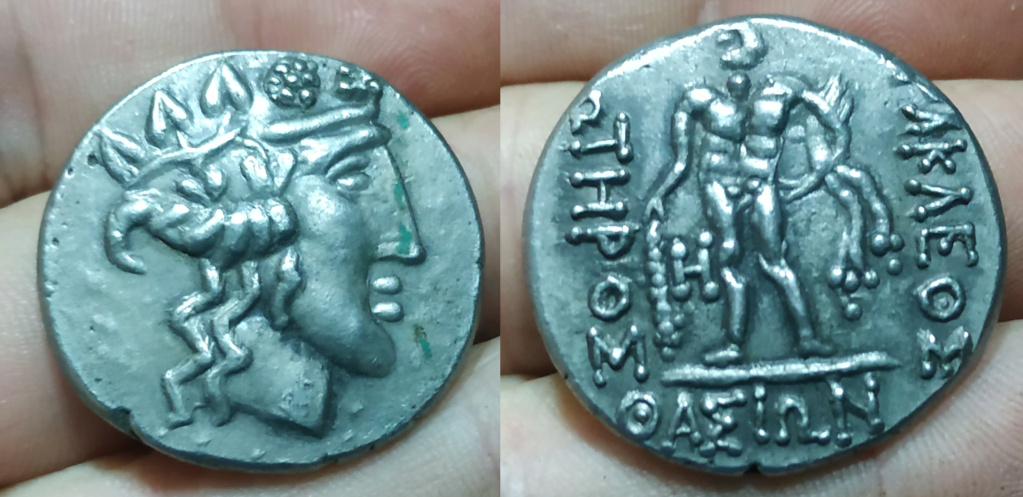 Tetradracma imitativo celta Moneda22