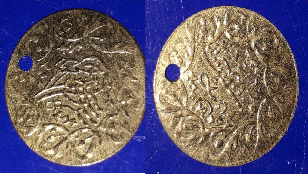 Medalla imitando a moneda otomana para adornar vestidos Ororo10