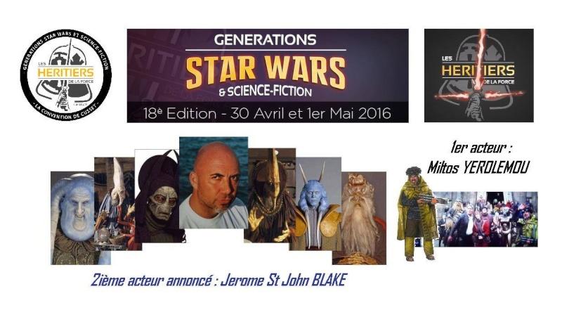 Générations Star Wars & SF - Cusset 30 Avril et 1er Mai 2016 - Page 2 12697110