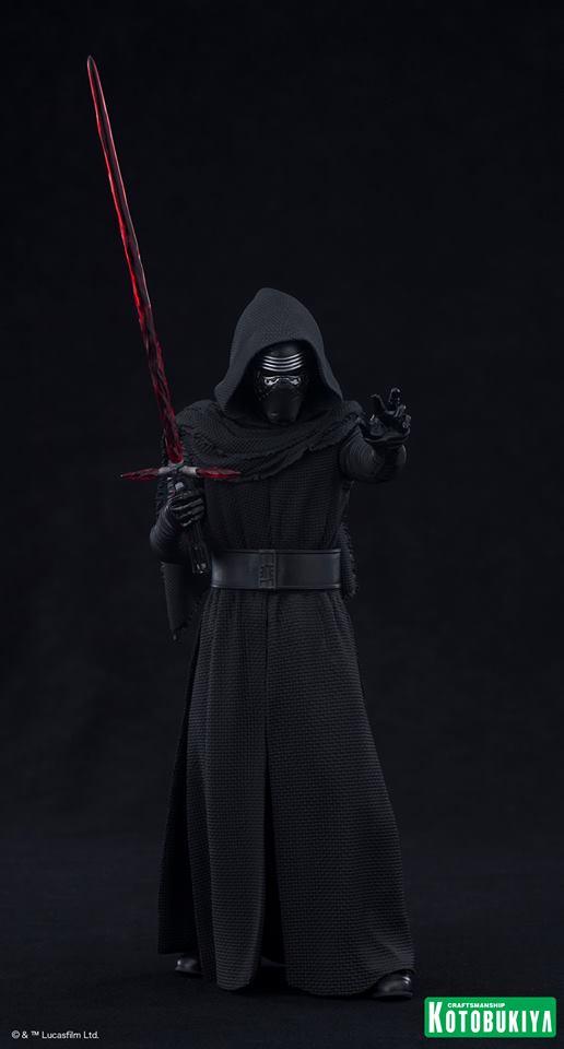 Kotobukiya Star Wars - Kylo Ren ArtFX Statue  Kylo-r17