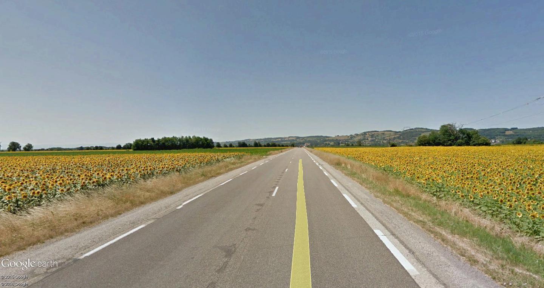 STREET VIEW : 2 sens de circulation = 2 saisons différentes vues de la Google Car ! [A la chasse !] Beauc11