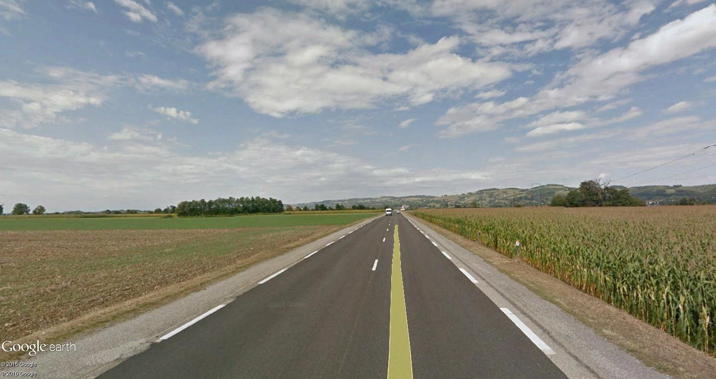 STREET VIEW : 2 sens de circulation = 2 saisons différentes vues de la Google Car ! [A la chasse !] Beauc_10