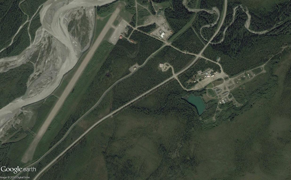 Street view: La route vers l'océan arctique. L'Alaska vu depuis la Dalton Highway. Coldfo11