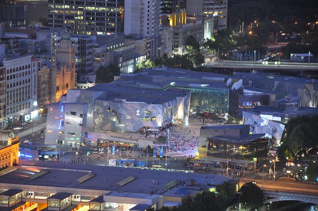 Federation Square, le centre culturel de Melbourne (Australie) Federa10
