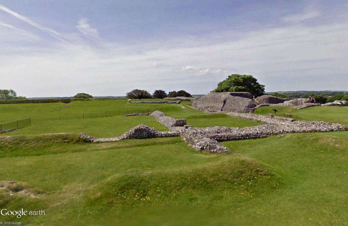 Old Sarum, Angleterre : une ville fortifiée vieille de 5000 ans Old_sa10