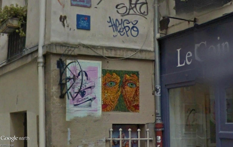 STREET VIEW : street art, grafs, tags et collages - Page 4 Rue_de11