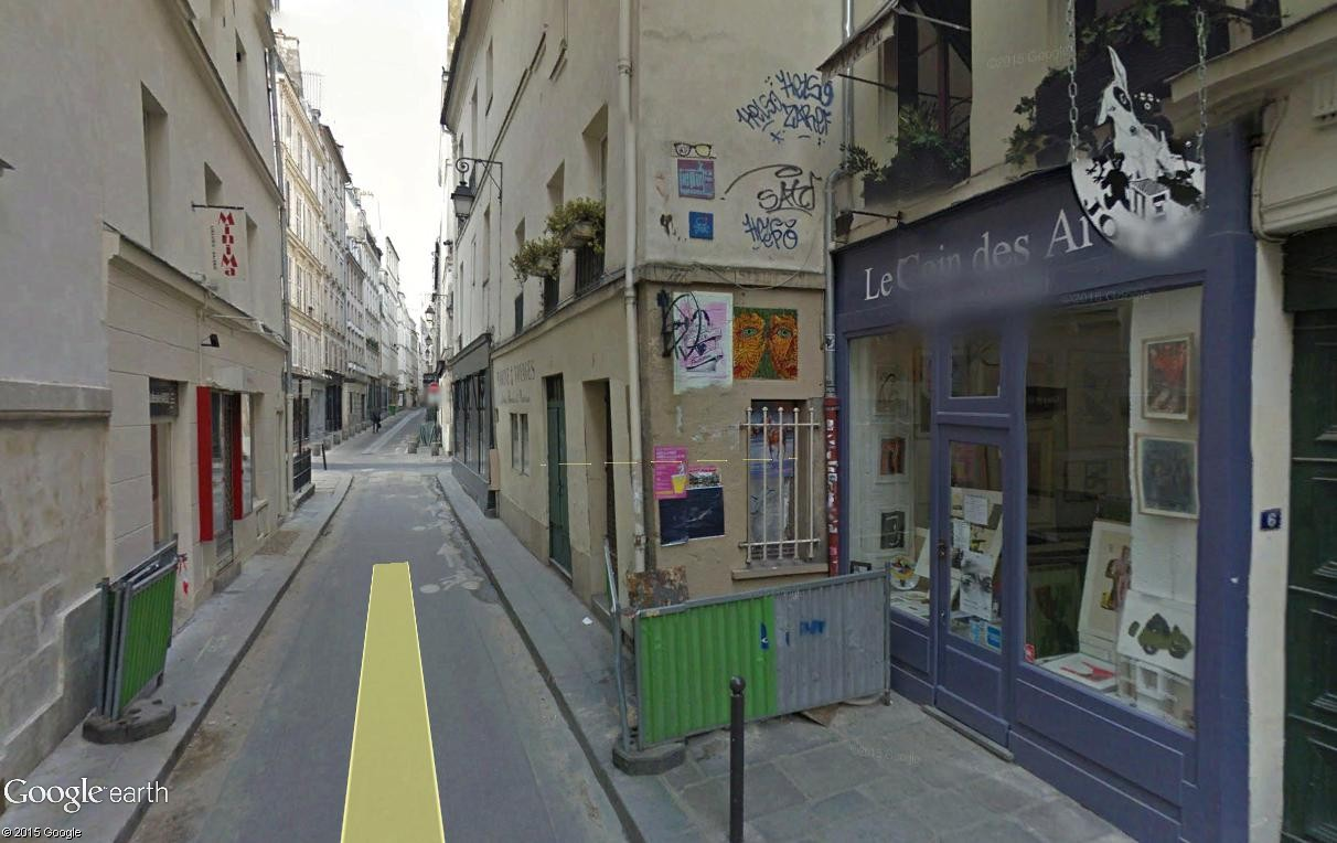 STREET VIEW : street art, grafs, tags et collages - Page 4 Rue_de12