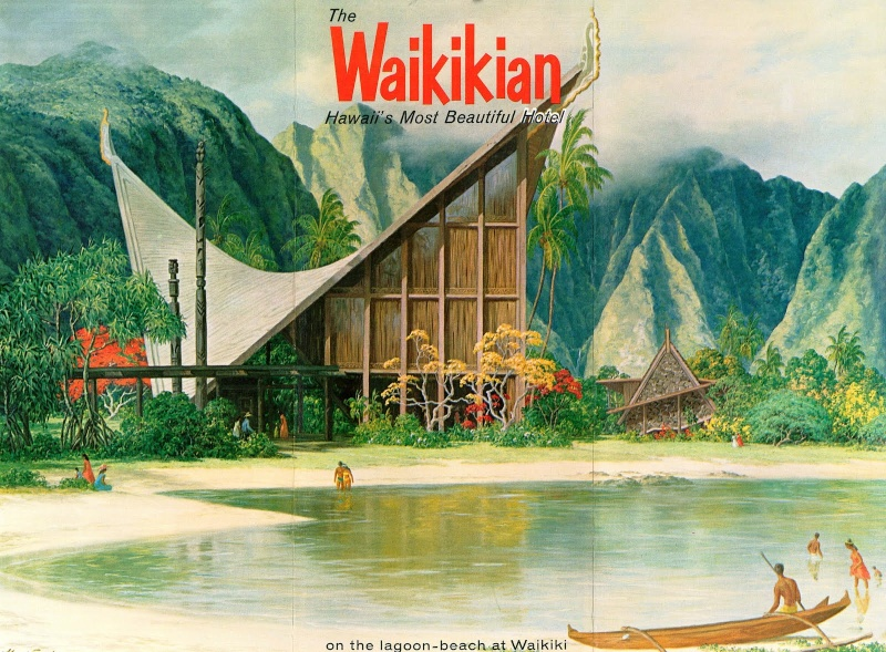Architecture Tiki : l'ambiance du grand sud Waikik10