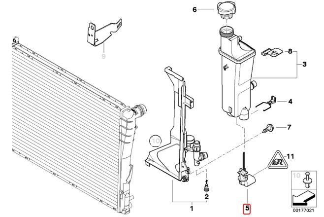 [ Bmw e46 320i M52 an 1999 ] voyant radiateur allumé (résolu) Sans_t10