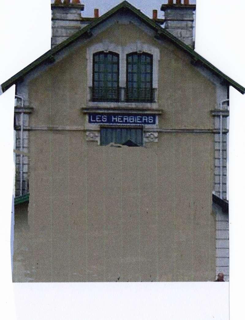 Gare des Herbiers/ réalisation maquette Img01610