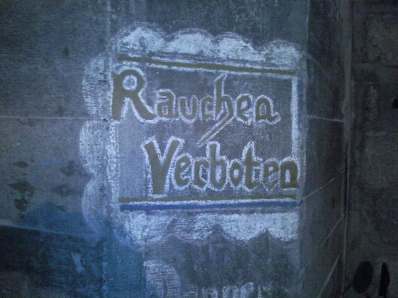 inscription dans bunker Photo010