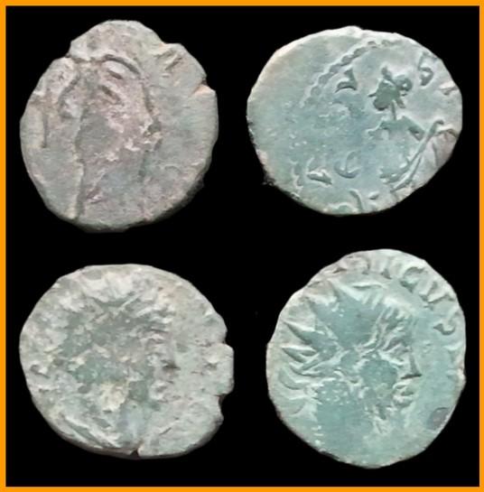Imitations Tétricus et Gallien Tetri310
