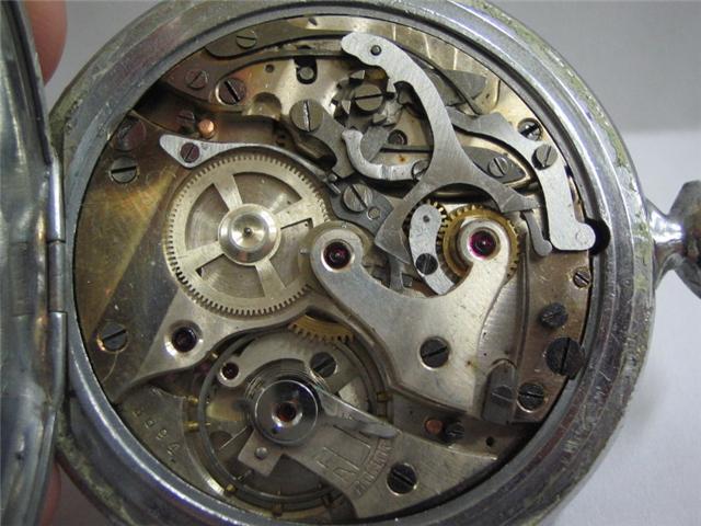 Identification chrono avant remise en poche... Calibr12