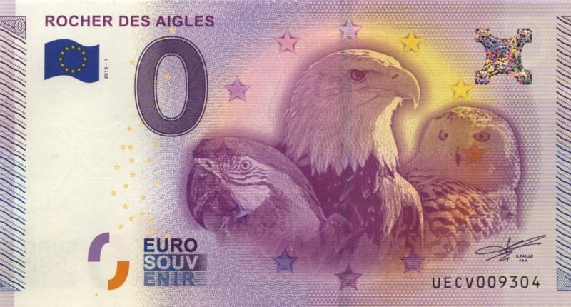 Billets 0 € Souvenirs = 80 Aigles10
