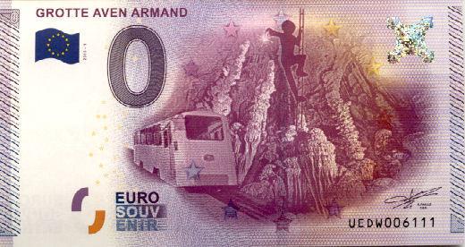 Billets 0 € Souvenirs = 75 Armand11