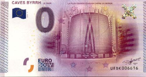 Billets 0 € Souvenirs = 75 Byrrh10