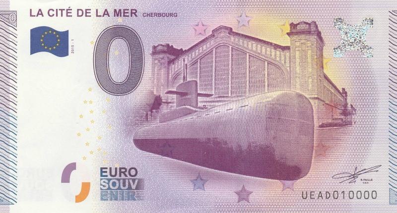 Billets 0 € Souvenirs [Normandie = 51] Cherbo10
