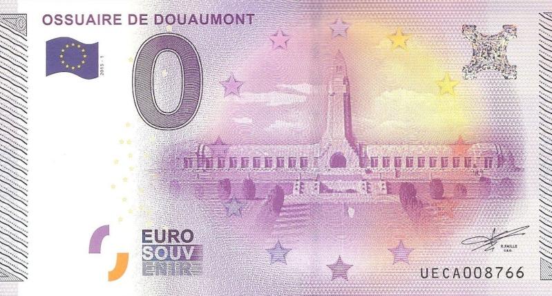 Billets 0 € Souvenirs  = 37 Douaum11