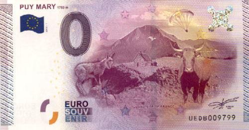 Billets 0 € Souvenirs  = 40  Mary12