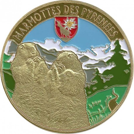 Souvenirs et Patrimoine 34mm  Pyrene13