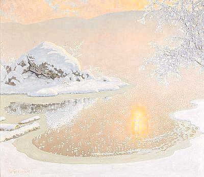 Aperçu sur la peinture scandinave Fjaest10