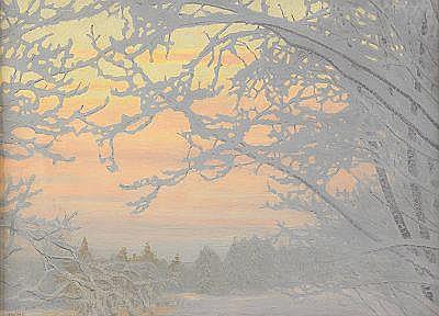 Aperçu sur la peinture scandinave Fjaest14