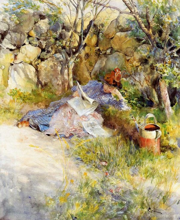 Aperçu sur la peinture scandinave Larsso12