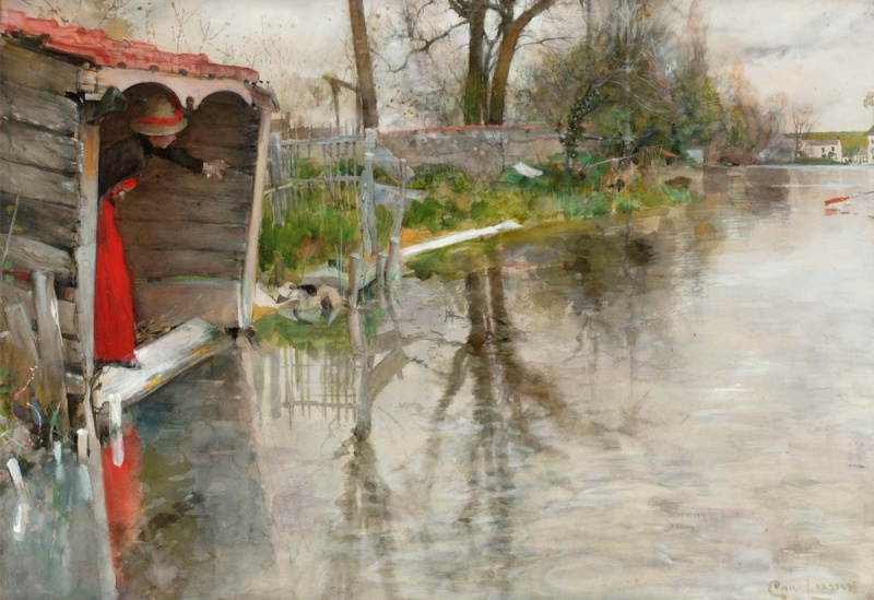 Aperçu sur la peinture scandinave Larsso14
