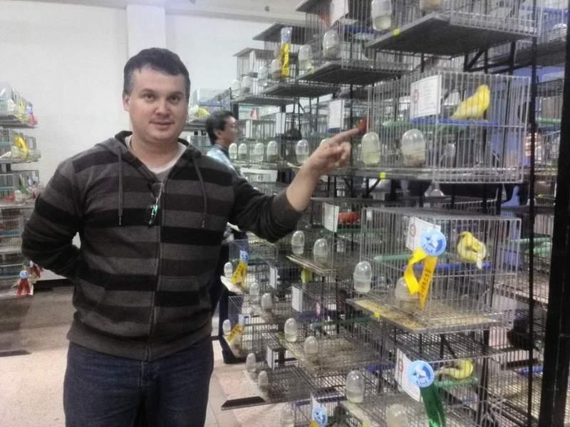 EXPOSICION DE AVES LIMA PERU ( SAN ISIDRO ) 510