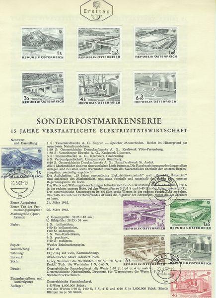 Österreich - Specimen, Schwarzdrucke, Buntdrucke Energi10
