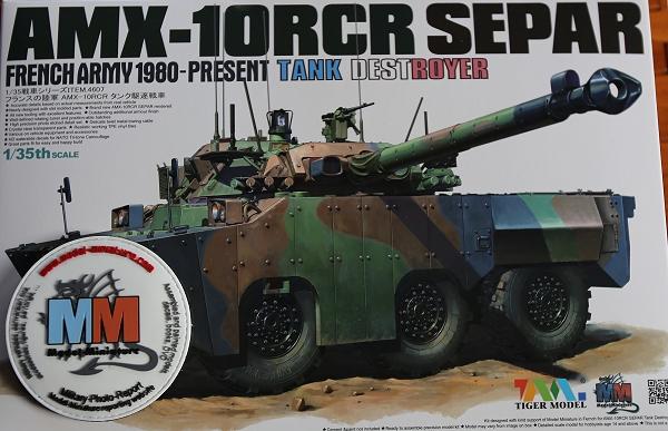 tiger - AMX-30 Brenus, Nagmachon, VBL 12.7, AMX-10 SEPAR Tiger Model Amx-1010