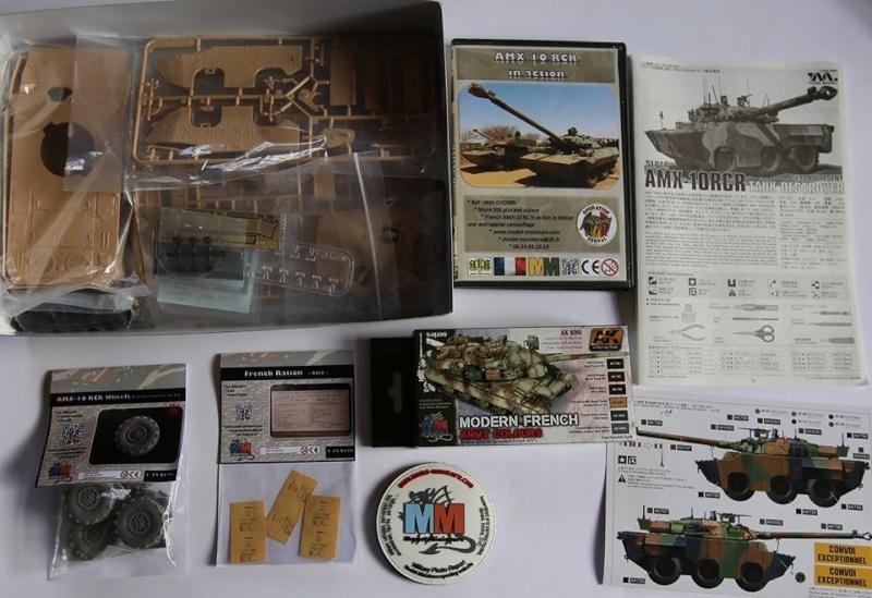 tiger - AMX-30 Brenus, Nagmachon, VBL 12.7, AMX-10 SEPAR Tiger Model Amx-1011