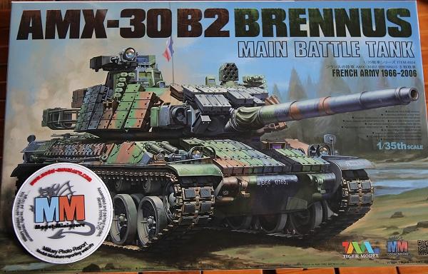 tiger - AMX-30 Brenus, Nagmachon, VBL 12.7, AMX-10 SEPAR Tiger Model Amx-3010
