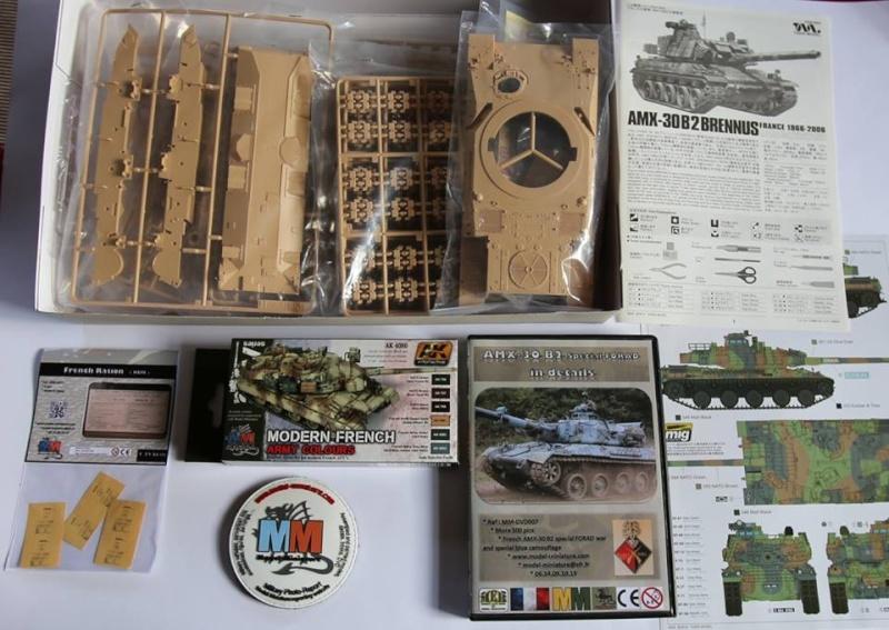 tiger - AMX-30 Brenus, Nagmachon, VBL 12.7, AMX-10 SEPAR Tiger Model Amx-3011