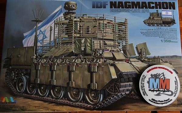 tiger - AMX-30 Brenus, Nagmachon, VBL 12.7, AMX-10 SEPAR Tiger Model Nagmac13