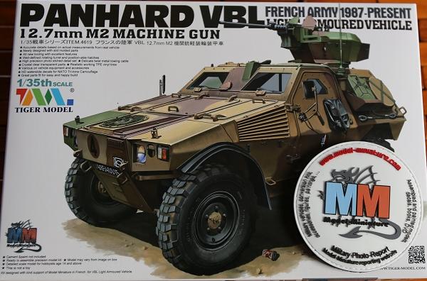 tiger - AMX-30 Brenus, Nagmachon, VBL 12.7, AMX-10 SEPAR Tiger Model Panhar10