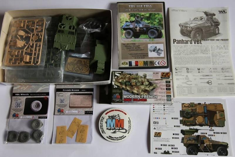 tiger - AMX-30 Brenus, Nagmachon, VBL 12.7, AMX-10 SEPAR Tiger Model Vbl10