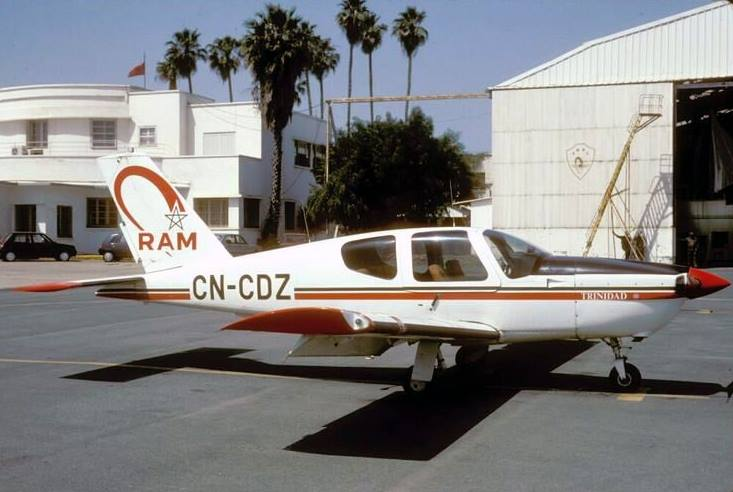 Anciens avions de la RAM 00018