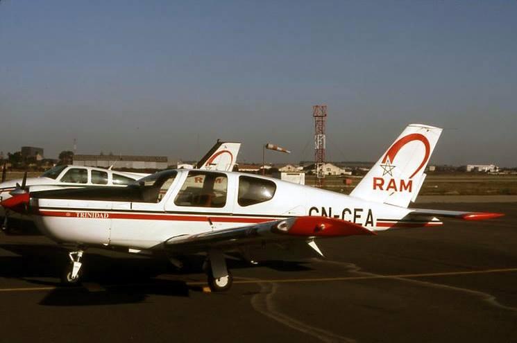 Anciens avions de la RAM 00019