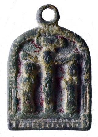 Medalla esmaltada Virgen de la Piedad / Crucifixión (R.M. SXVI-Ot4) Dsc_7412