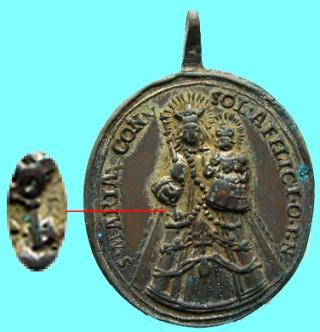 afligidos - N. S.  Consoladora de los afligidos de Luxemburgo / Compañía de Jesús (R.M. SXVII-O378)(MAM) Llave10