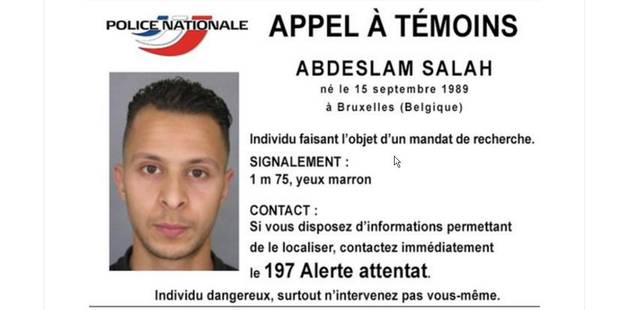 Salah Abdeslan est un terroriste recherché  5648c210