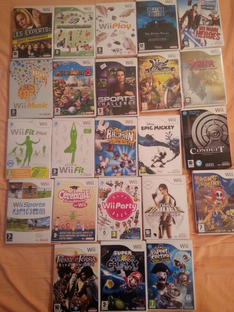 Vente jeux multi support BAISSE DES PRIX  20151118