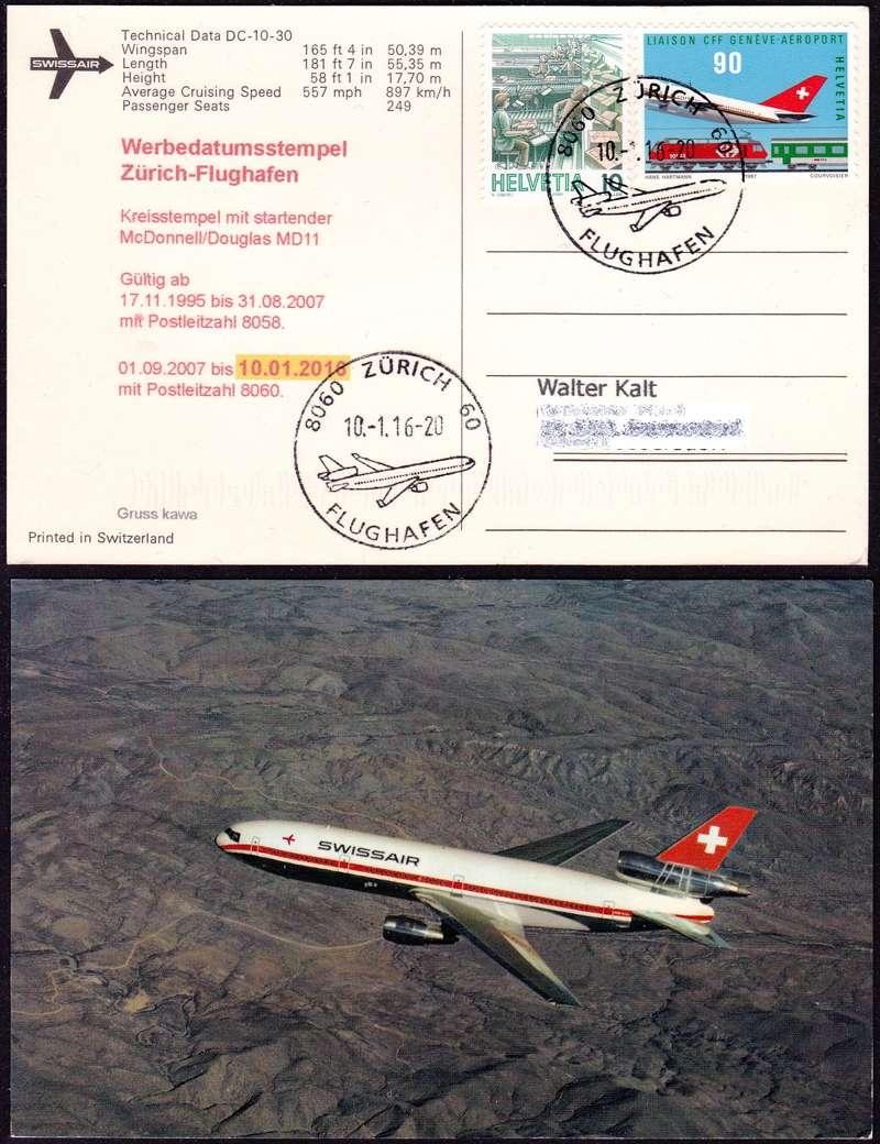Neuer Werbedatumstempel Flughafen Zürich Alte-k10